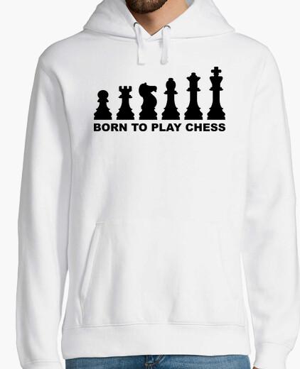 Sweat né pour jouer à l39évolution des échecs