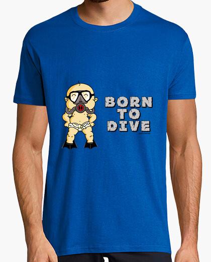 Tee-shirt né pour plonger l'homme