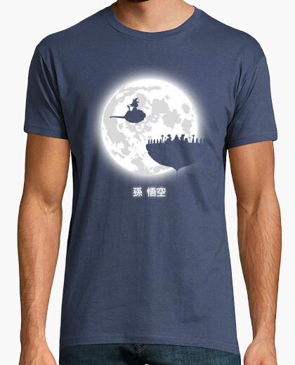 Tee-shirt Ne regarde pas la pleine lune! (v2)