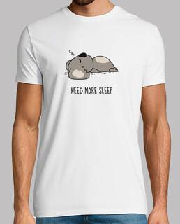 necesitan más horas de sueño