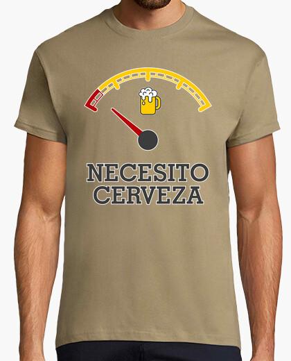 Camiseta Necesito cerveza