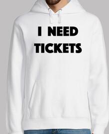 necesito entradas