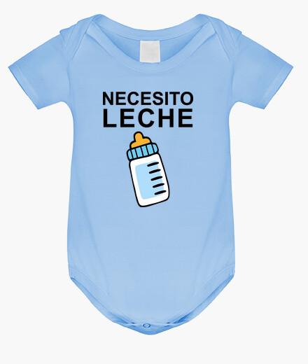 Ropa infantil Necesito Leche