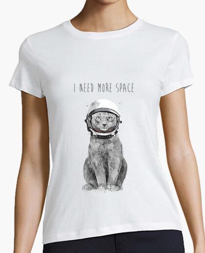 Camiseta necesito más espacio