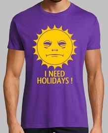 necesito vacaciones!