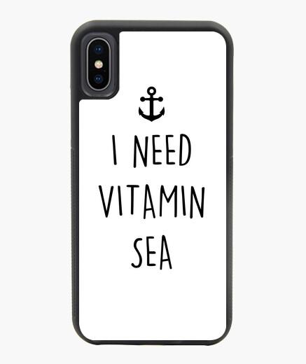 Funda iPhone X / XS necesito vitamina mar