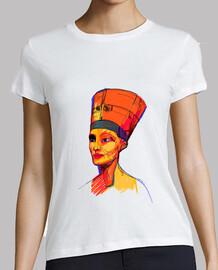 nefertiti by aitana perez / women, short sleeve, white, premium quality