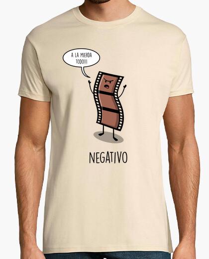 T-shirt negativo
