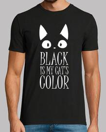 negro es mi color de los gatos