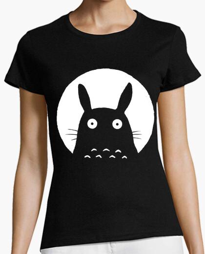 Camiseta negro totoro