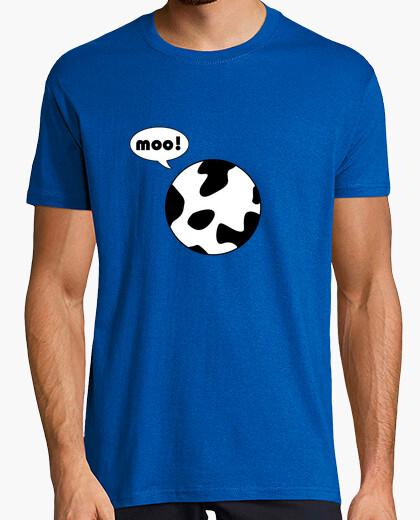 T-Shirt nehme una kugelförmige kuh