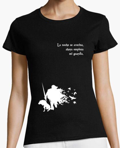 Tee-shirt neige jon (fille)