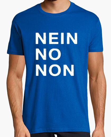 Camiseta Nein No Non