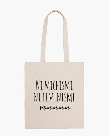 Neither michismi nor fiminismi bag