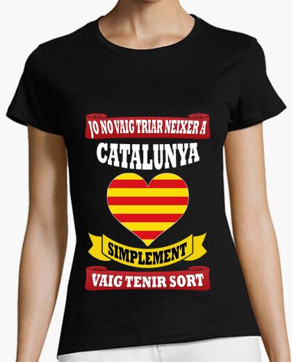 Neixer catalonia sort t-shirt