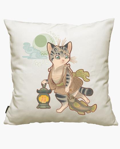 Neko cushion cover