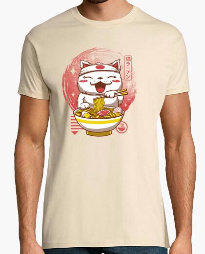 Tee-shirt neko ramen chemise homme