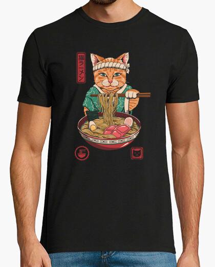 T-Shirt neko ramen shirt herren