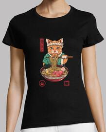 Neko Ramen Shirt Womens