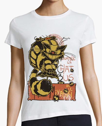 Tee-shirt Nekobus, le chat noir