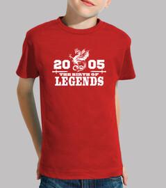 nel 2005 la nascita di legends