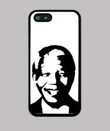 Nelson Mandela Face - Funda de móvil