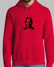 Nelson Mandela Face - Sudadera chico