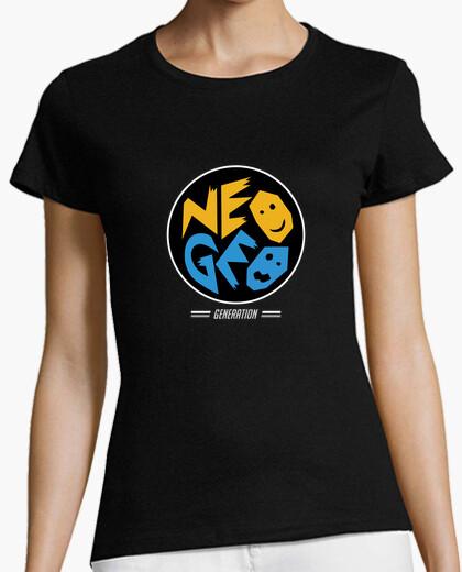 Camiseta Neo Geo Generation - Circulo (Mujer)