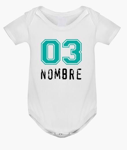 Abbigliamento bambino neonato famiglia nome personalizzato * descrizione lettura