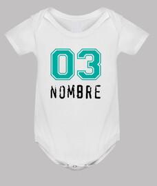 neonato famiglia nome personalizzato * descrizione lettura