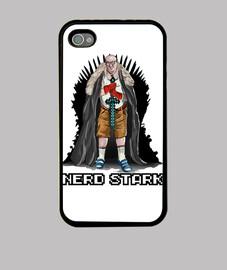 Nerd Stark funda iphone 4