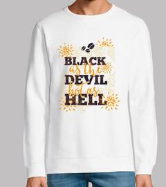nero come il devil hot da hell