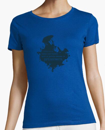Camiseta Neruda (azul oscuro) - Chica