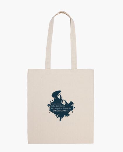 Neruda (azul oscuro) bolsa