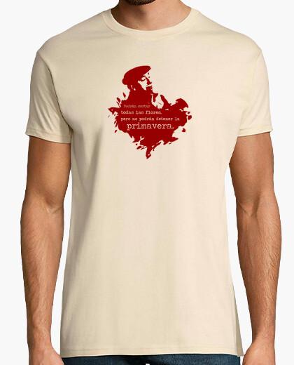 Camiseta Neruda (granate) - Chico