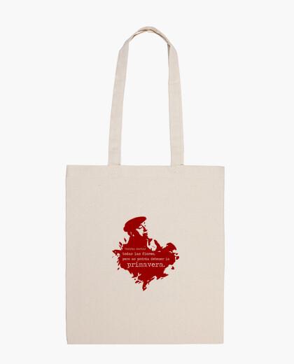 Neruda (granate) bolsa
