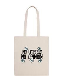 nessun utero nessuna opinione