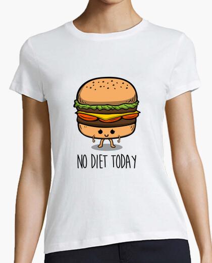 T-shirt nessuna dieta oggi
