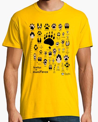T-shirt nessuna traccia di mammiferi iberiche. comune