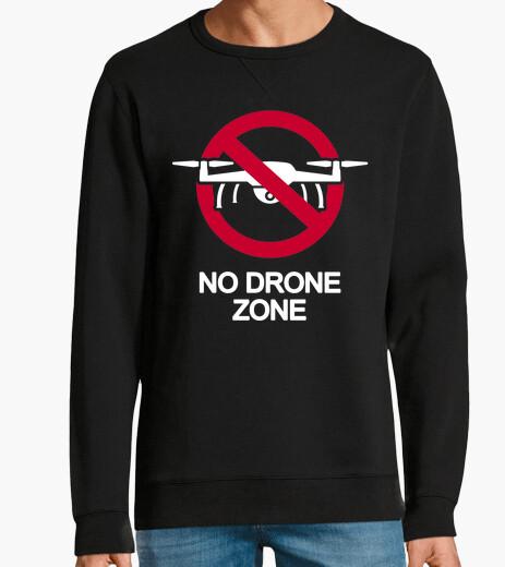 Felpa nessuna zona drone