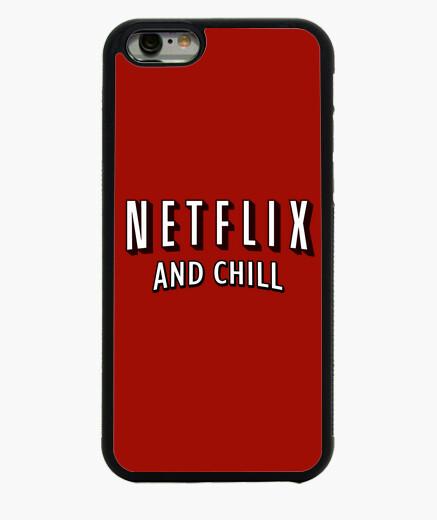 Funda iPhone 6 / 6S netflix y el frío