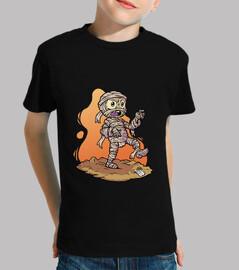 nette mama - t-shirt manga kurze kinder
