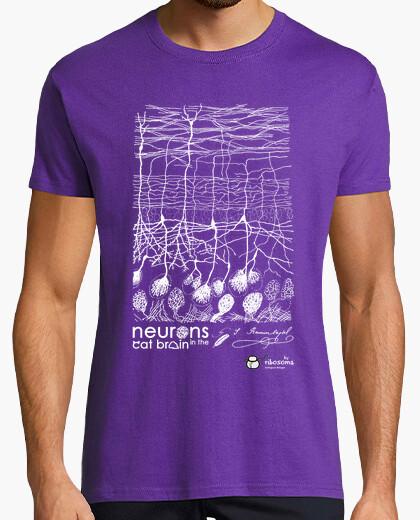 T-shirt neuroni nel gatto brain