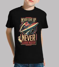 never arrendersi