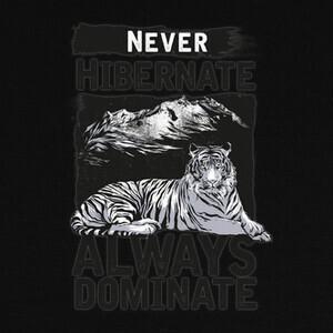 Camisetas Never Hibernate