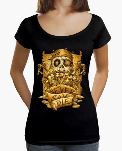 Camiseta Never Say Die