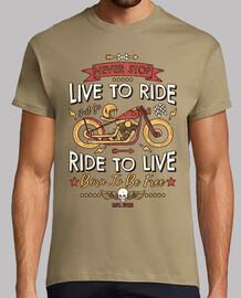 never smettere never live per ride  rid