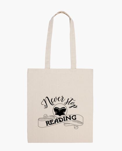 Bolsa Never stop reading