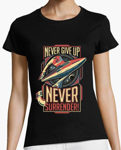 Never Surrender t-shirt