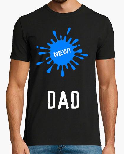 Camiseta NEW DAD MANCHA AZUL